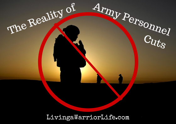 Reality of Army Personnel Cuts