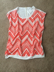 Stitch Fix Collective Concepts Chevron Top
