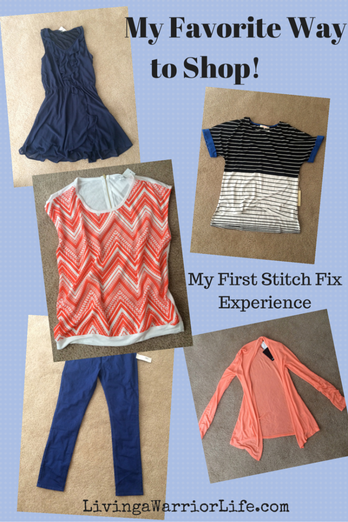 Stitch Fix Box #1