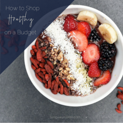 How to Shop Healthy on a Budget