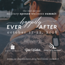 Register for the 2016 Military Spouse Wellness Summit!