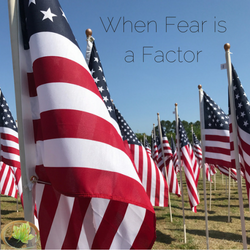 When Fear is a Factor