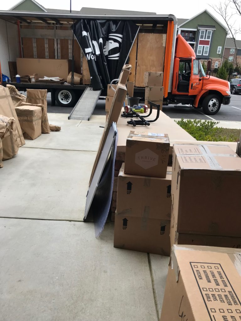 Packing the Crates